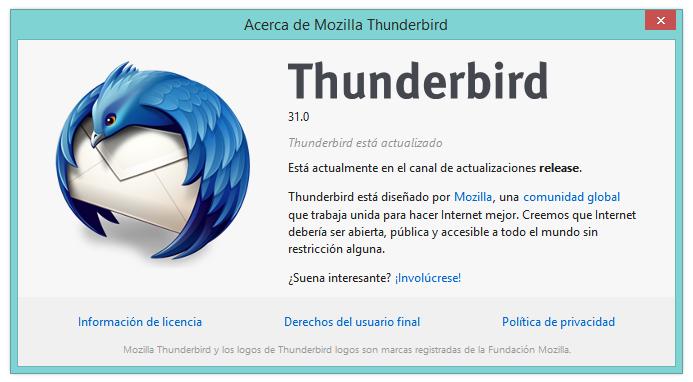 Configurar correos electronicos con Thunderbird